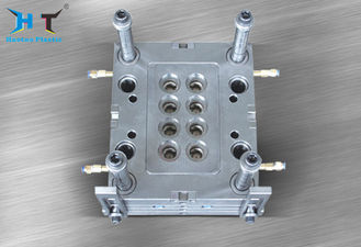 Highly Precise Screw Plastic Cap Mould S50C Mold Base Easy Operating