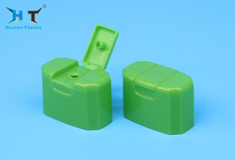 Rectangle Green Flip Top Dispensing Caps 16 Mm Neck Size Long Life Span